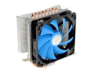 Кулер DEEPCOOL Ice Wind PRO LGA775/1155/1156/1366 AM2/AM2+/AM3/FM1 (Al+Cu, 4 трубки, 500-1500 rpm,18-28 dB(A)) PWM