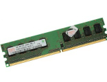 Память DIMM DDR2 1024MB PC6400 800MHz на чипах Hynix