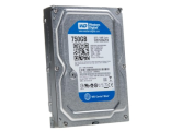 Жесткий диск SATA-3 750Gb Western Digital Caviar Blue 7200rpm [WD7500AZEX] Cache 64MB